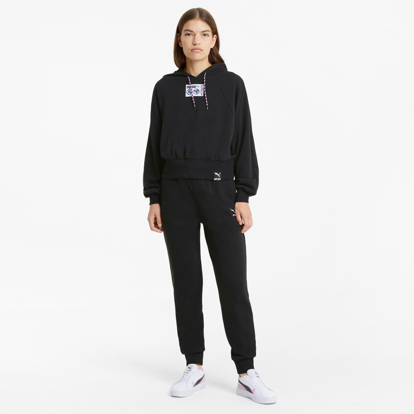 Puma International Knitted Kadın Siyah Eşofman Altı