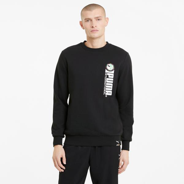 Puma International Erkek Siyah Sweatshirt