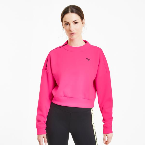 Puma Train Zip Kadın Pembe Sweatshirt