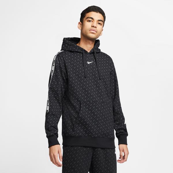 Nike Sportswear Repeat Erkek Siyah Sweatshirt