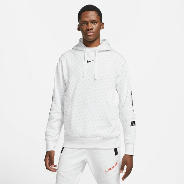 Nike Sportswear Repeat Erkek Beyaz Sweatshirt