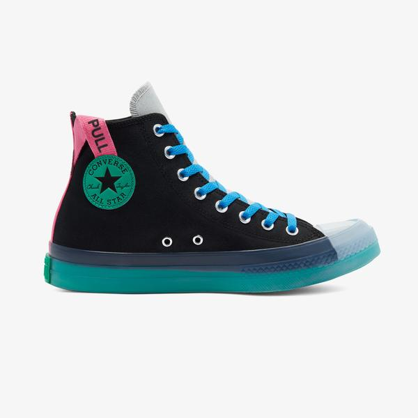 Converse Chuck Taylor All Star Digital Terrain Hi Kadın Siyah Sneaker