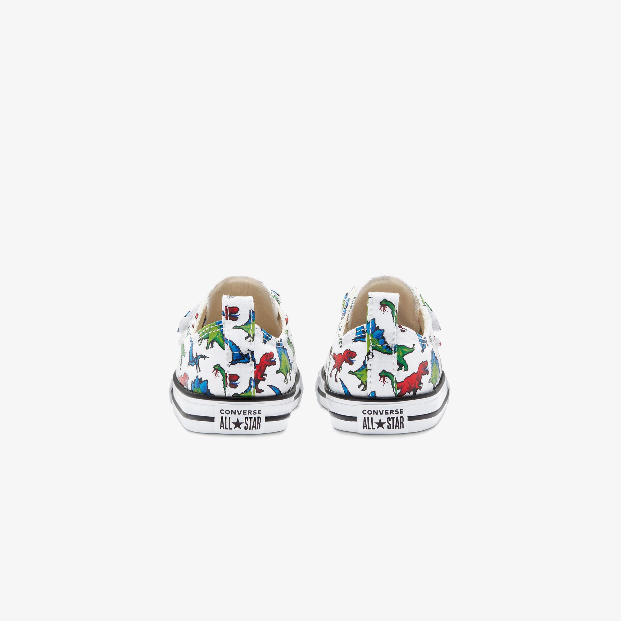 Converse Chuck Taylor All Star 8-Bit Easy-On Bebek Beyaz Sneaker