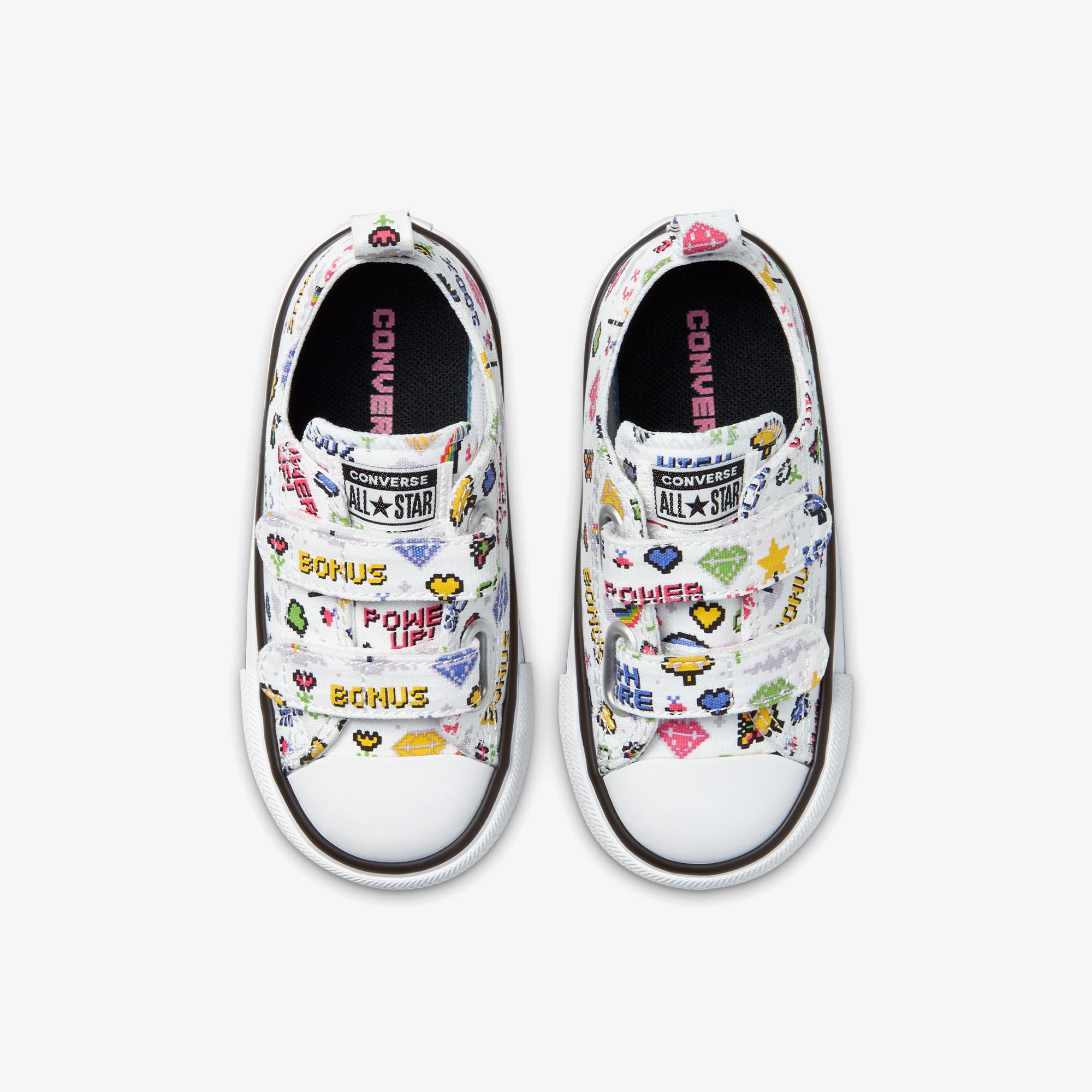Converse Chuck Taylor All Star 2V Bebek Beyaz Sneaker