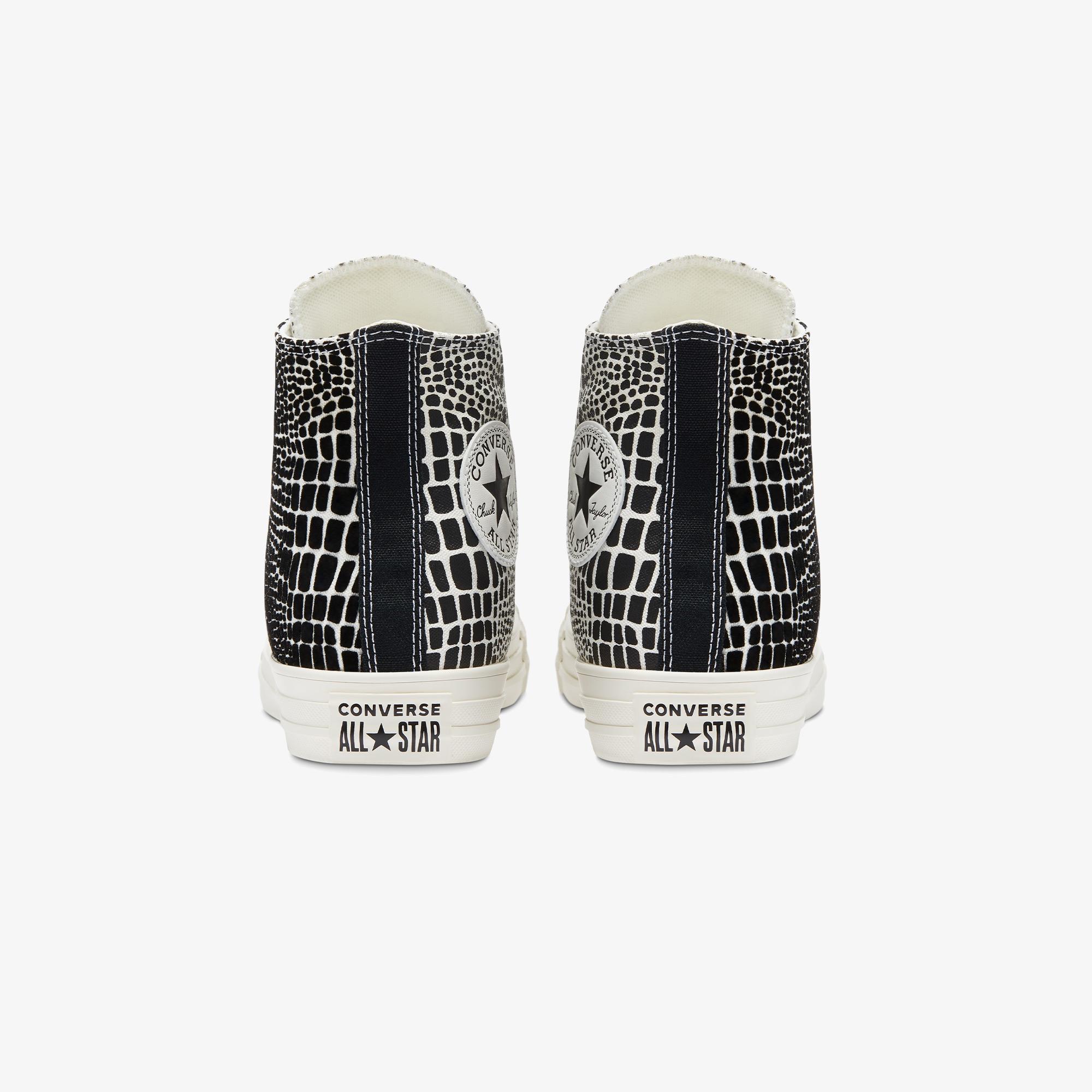 Converse Chuck Taylor Digital Daze Hi Kadın Siyah - Beyaz Sneaker