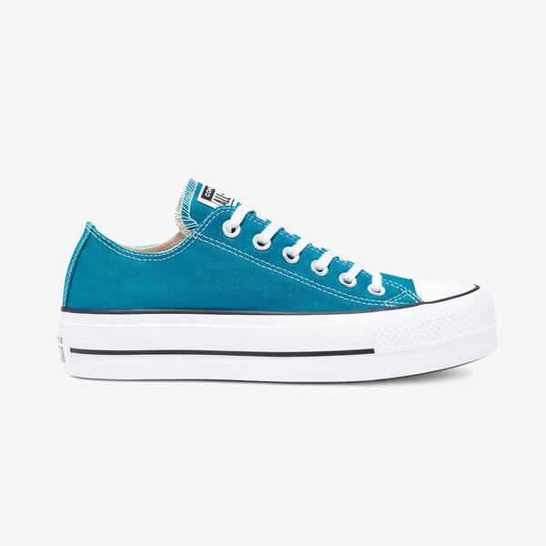 Converse Chuck Taylor All Star Platform Kadın Mavi Sneaker