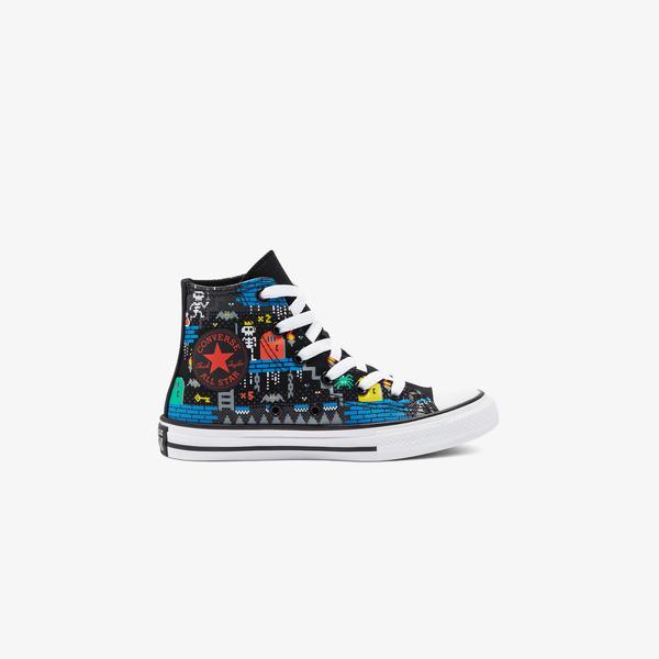 Converse Chuck Taylor All Star Gamer Hi Çocuk Siyah Sneaker