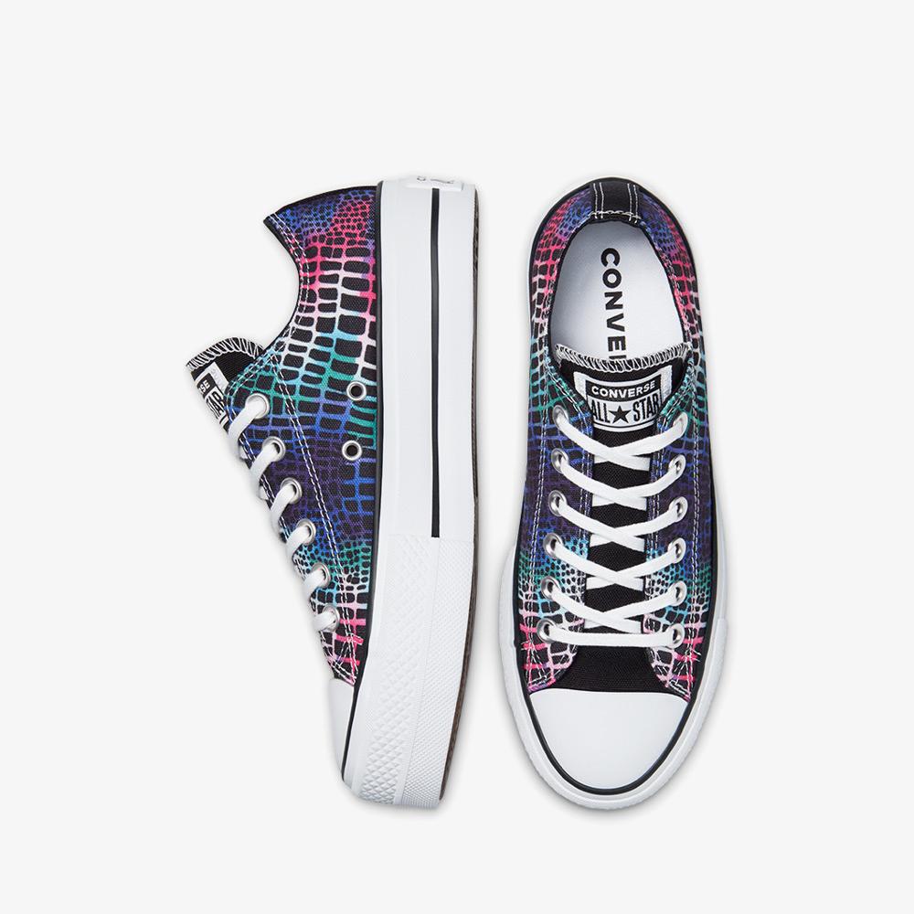 Converse Chuck Taylor All Star Lift Digital Daze Kadın Siyah Sneaker