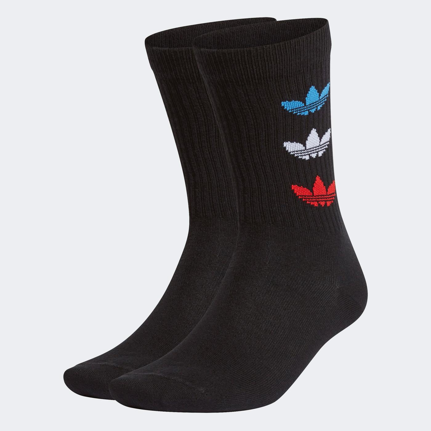 adidas Tri Erkek Siyah Çorap