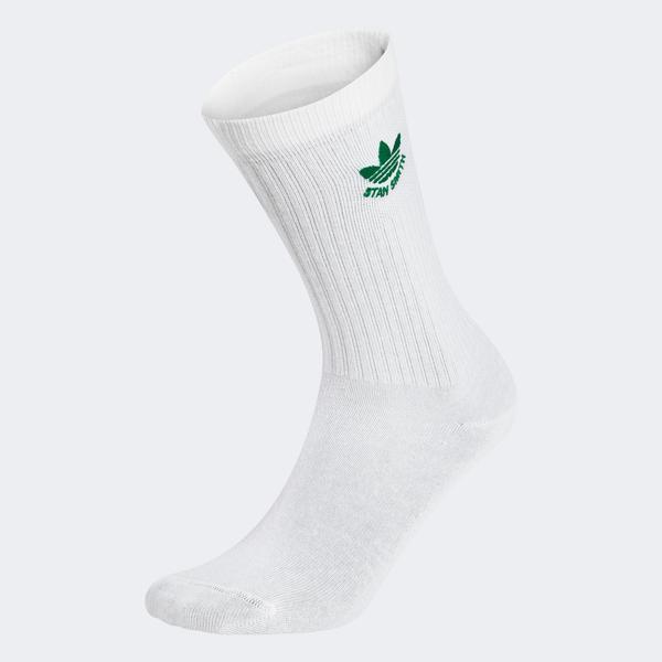 adidas Stan T Rsock 1P Erkek Beyaz Çorap