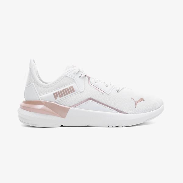 Puma Platinum Metallic Kadın Beyaz Spor Ayakkabı