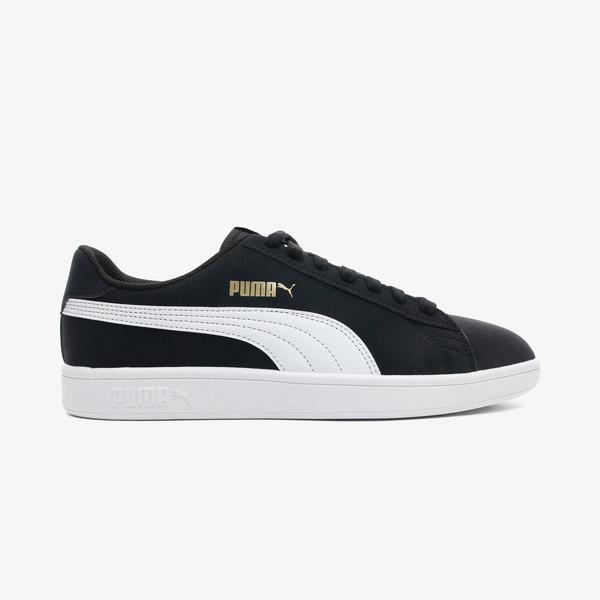 Puma Smash V2 Buckite Unisex Siyah Spor Ayakkabı