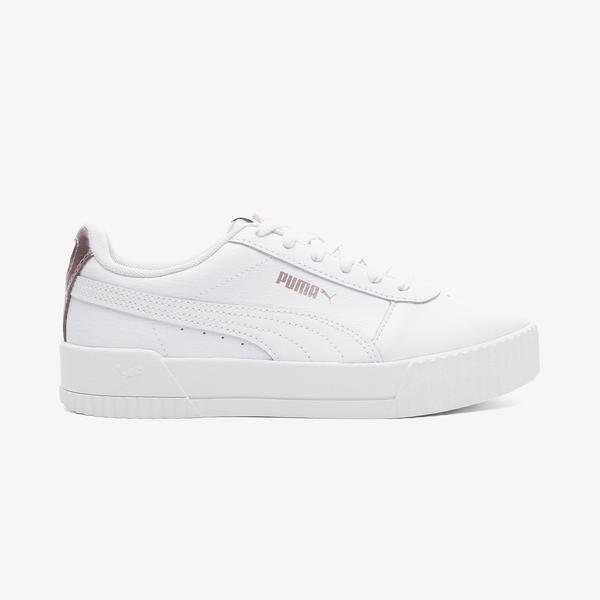 Puma Carina Rg Kadın Beyaz Spor Ayakkabı
