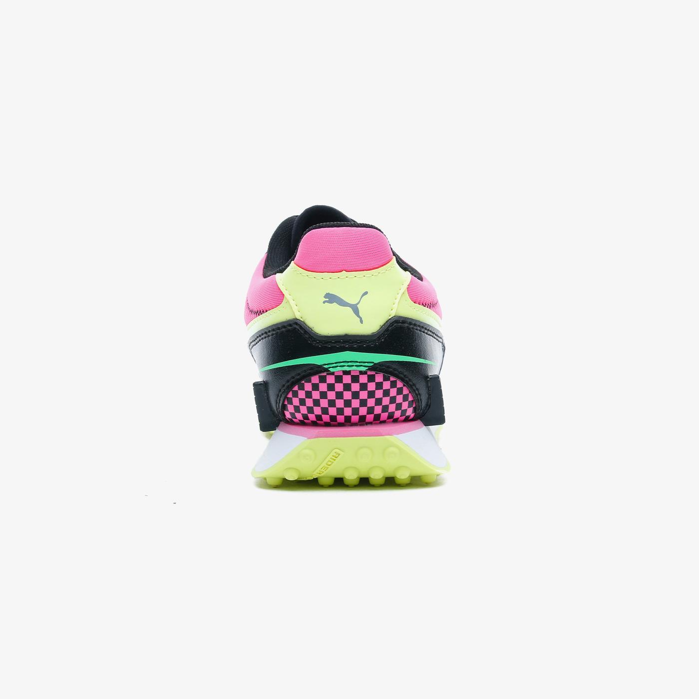 Puma Mile Rider Sunny Gataway Kadın Siyah Spor Ayakkabı