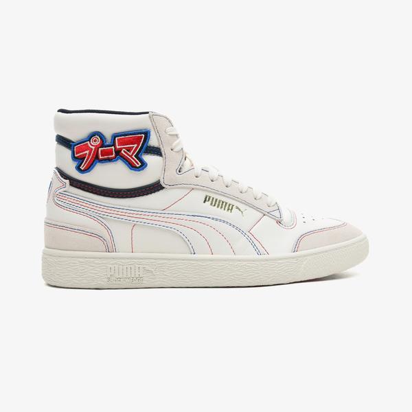 Puma Ralph Sampson Mid Japanorama Unisex Beyaz Spor Ayakkabı