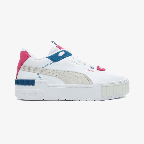 Puma Cali Sport Mix Kadın Beyaz Spor Ayakkabı