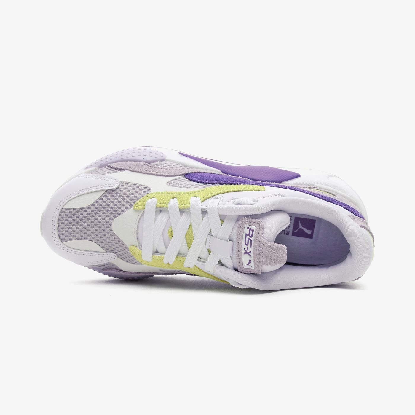 Puma RS-X³ Mesh Pop Kadın Beyaz Spor Ayakkabı