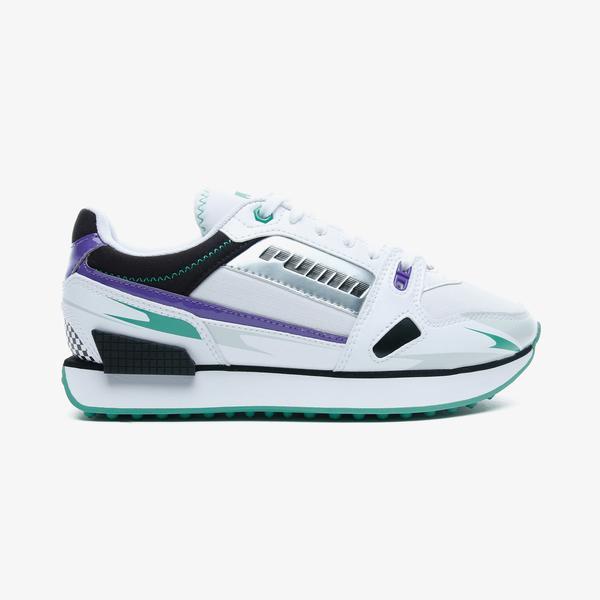 Puma Mile Rider Sunny Gataway Kadın Beyaz Spor Ayakkabı