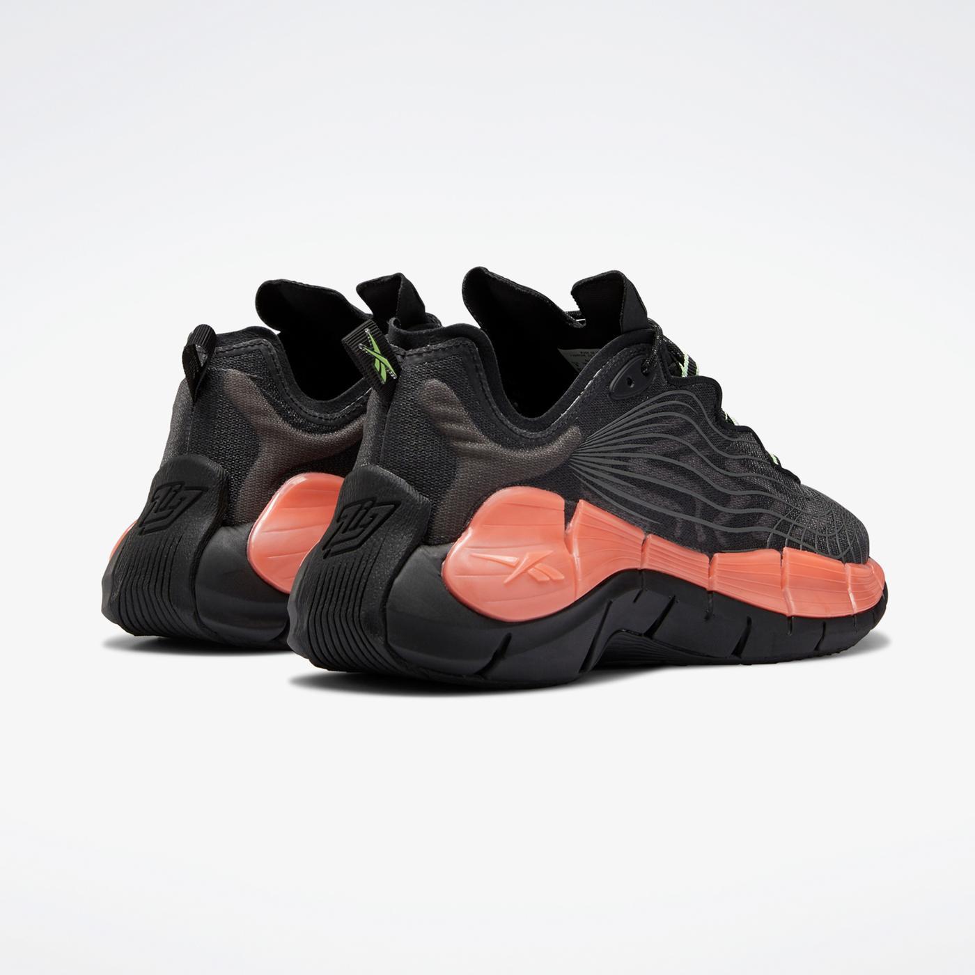 Reebok Zig Kinetica II Unisex Siyah Spor Ayakkabı