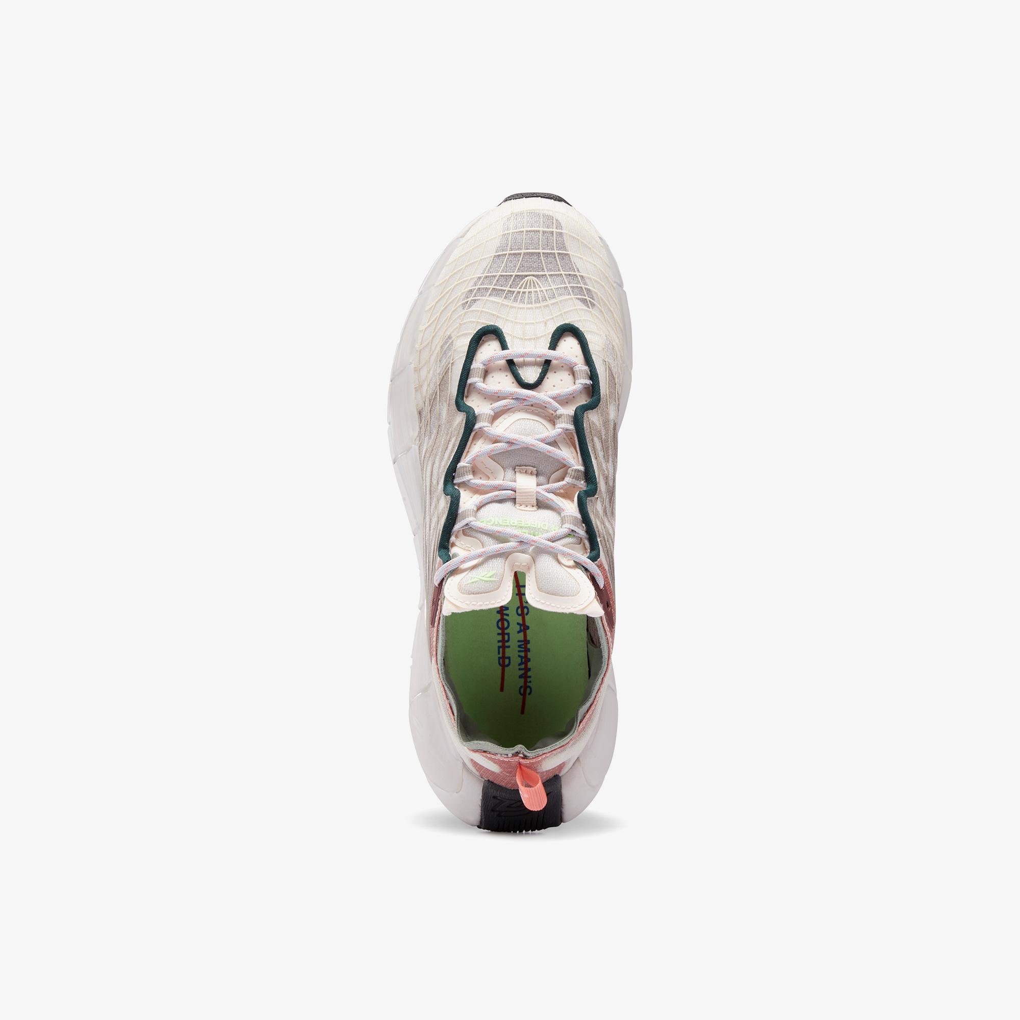 Reebok Zig Kinetica II Kadın Bej Spor Ayakkabı