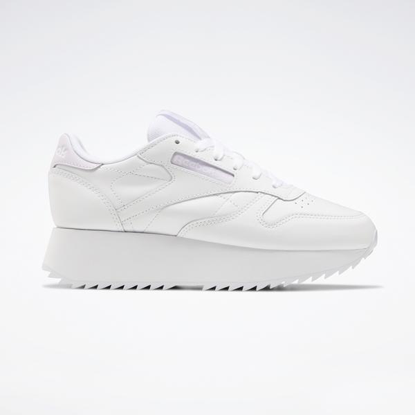 Reebok CL LTHR Double Kadın Beyaz Spor Ayakkabı