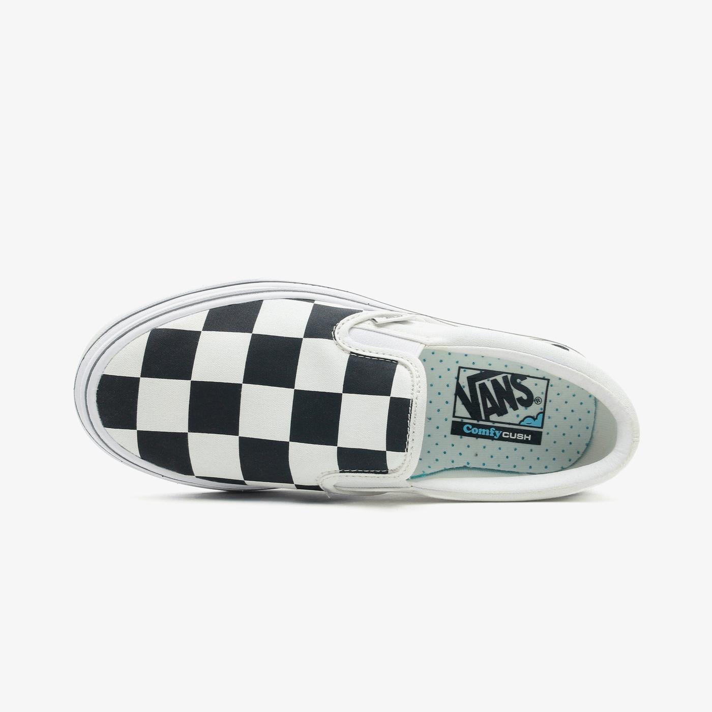Vans Super ComfyCush Slip-On Kadın Bej-Siyah Sneaker