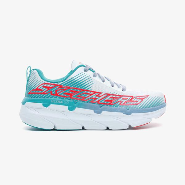 Skechers Max Cushioning Premier-Expres Kadın Beyaz Spor Ayakkabı