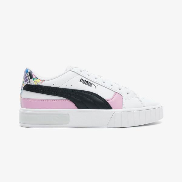 Puma Cali Star International Game Kadın Beyaz Spor Ayakkabı