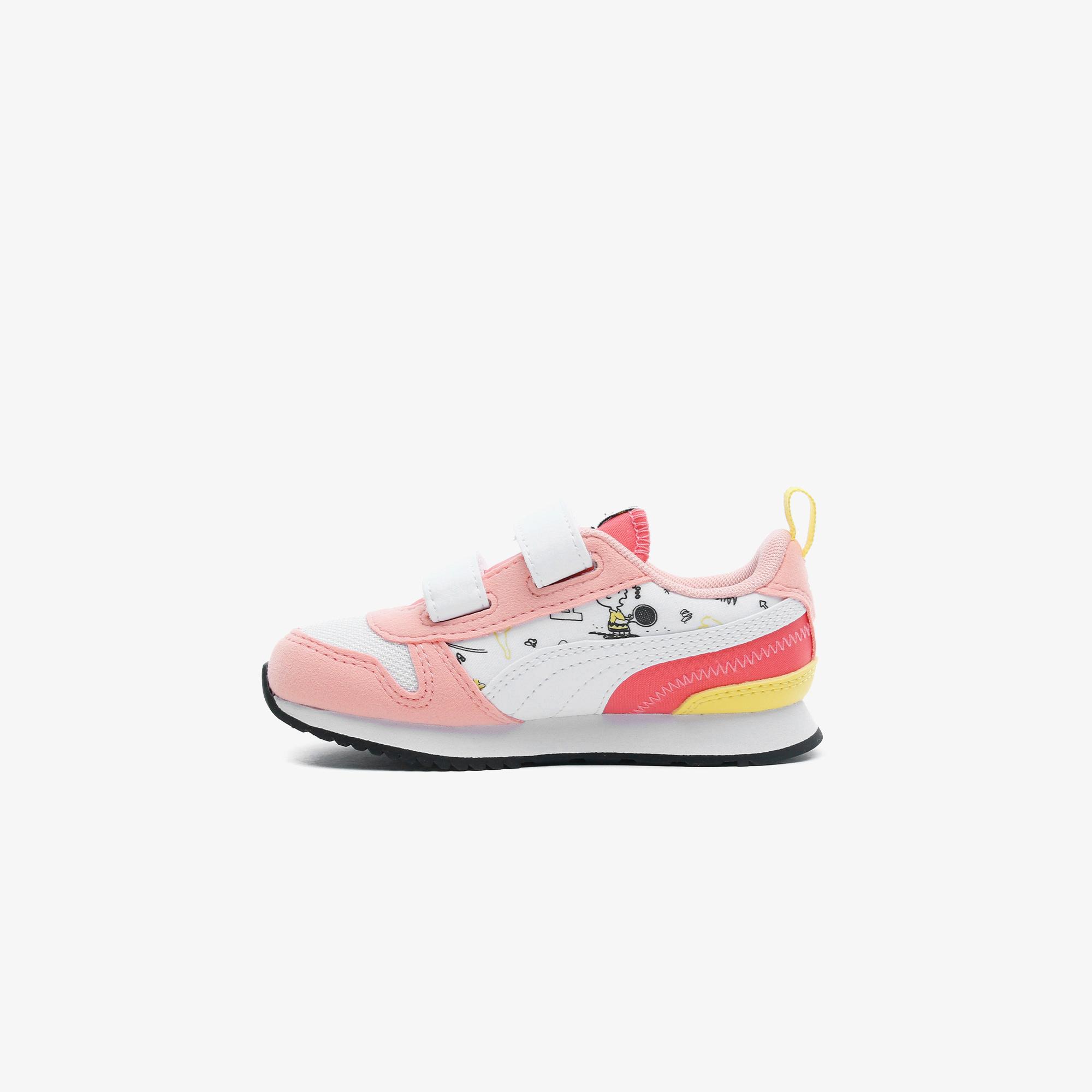 Puma PEANUTS Puma R78 Bebek Beyaz Spor Ayakkabı