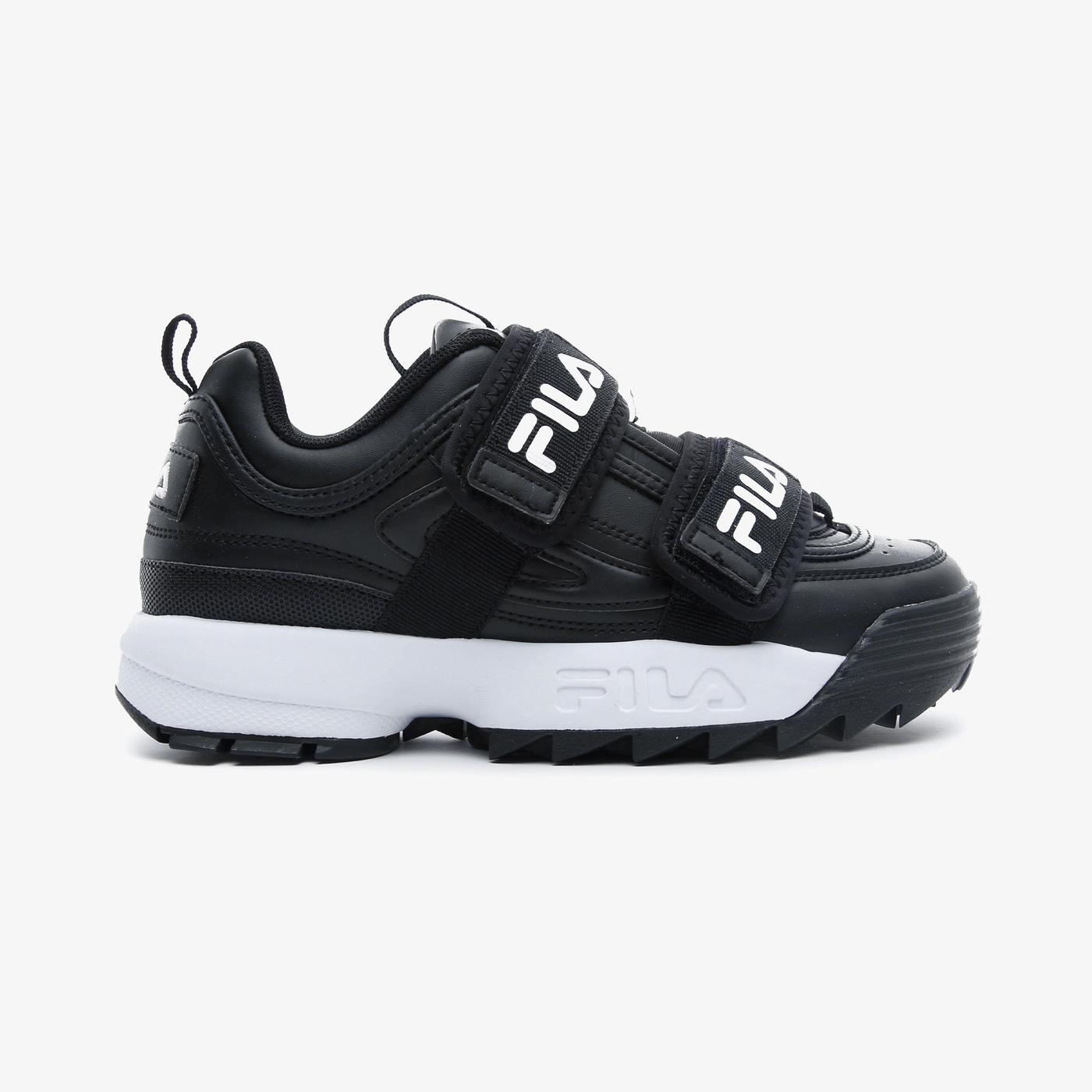 Fila Disruptor Straps Kadın Siyah Spor Ayakkabı