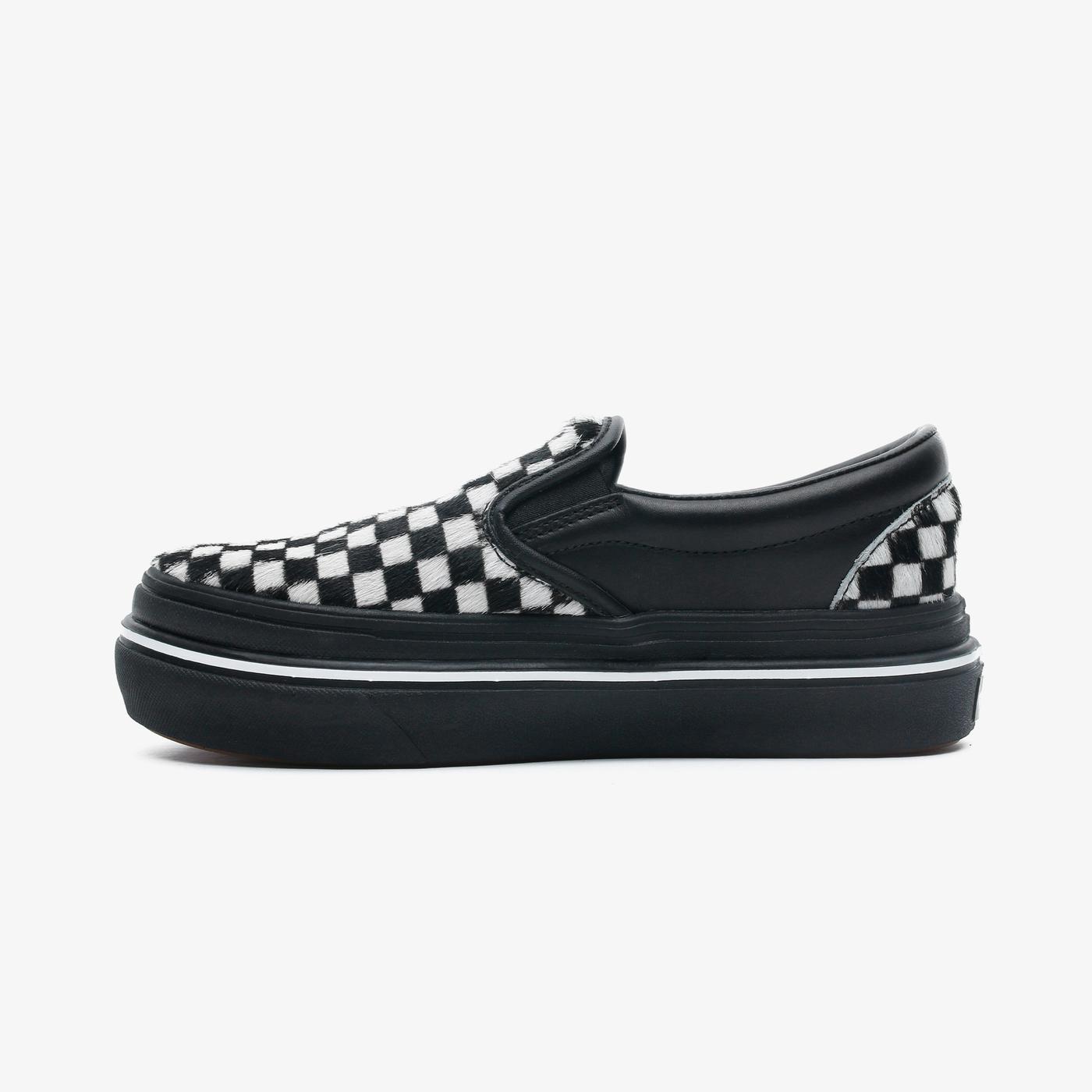 Vans Super Comfycush Slip-On Kadın Siyah Sneaker