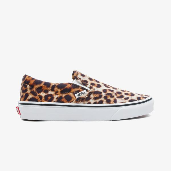 Vans Classic Slip-On Kadın Leopar Sneaker
