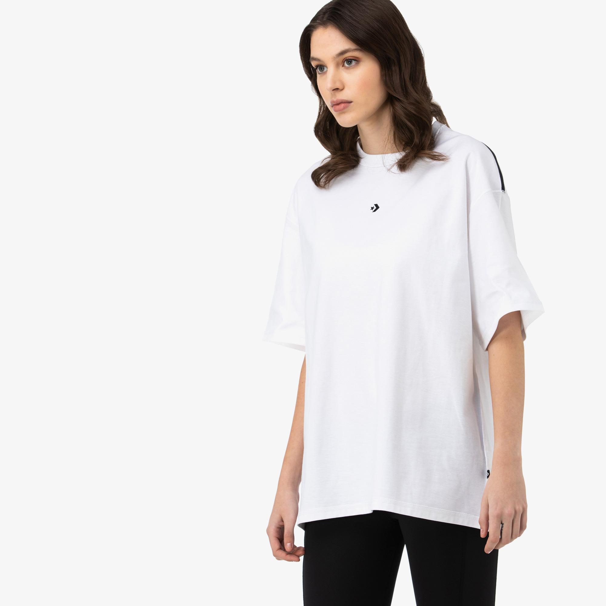 Converse Crossover Unisex Beyaz T-Shirt