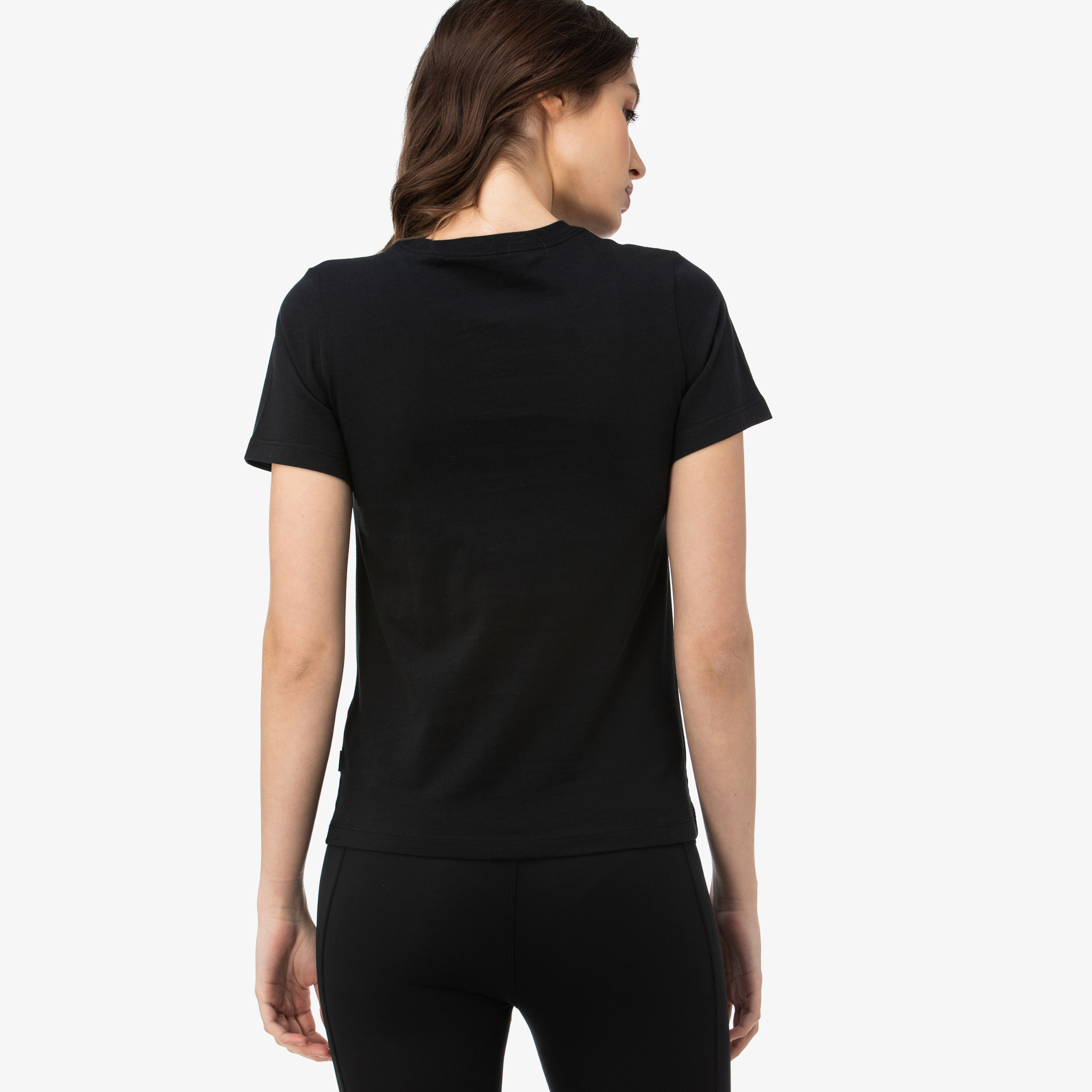 Converse Multi Star Chuck Patch Kadın Siyah T-Shirt