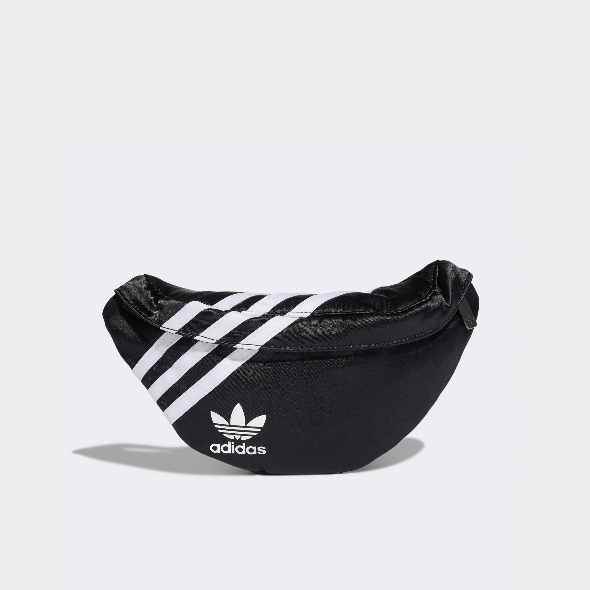 adidas Nylon Unisex Siyah Bel Çantası