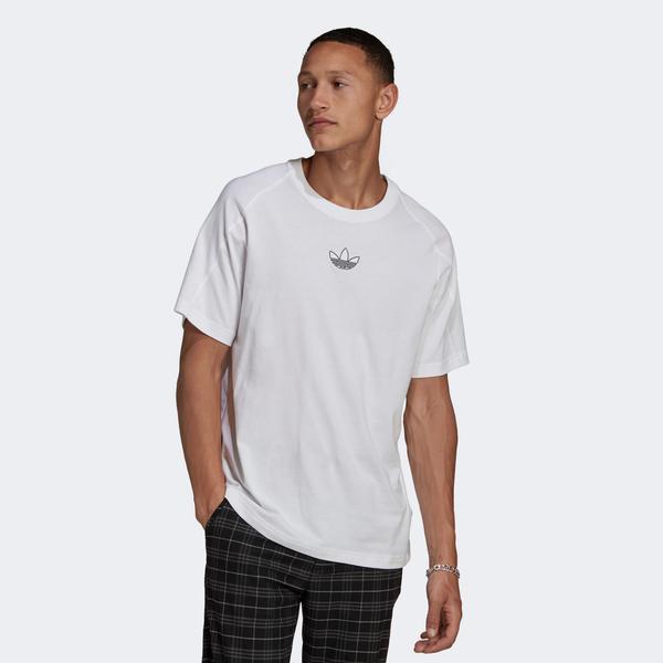 adidas SPRT Archive Erkek Beyaz T-Shirt