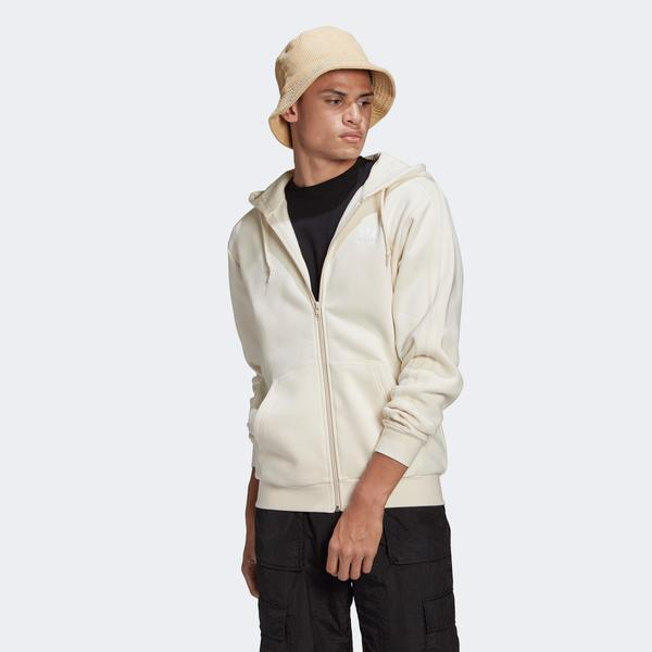 adidas 3-Stripes Erkek Bej Sweatshirt