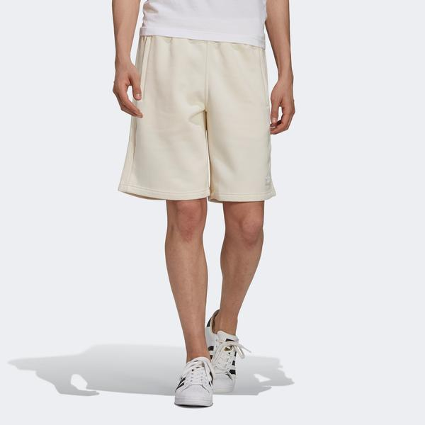 adidas 3-Stripes Erkek Bej Şort