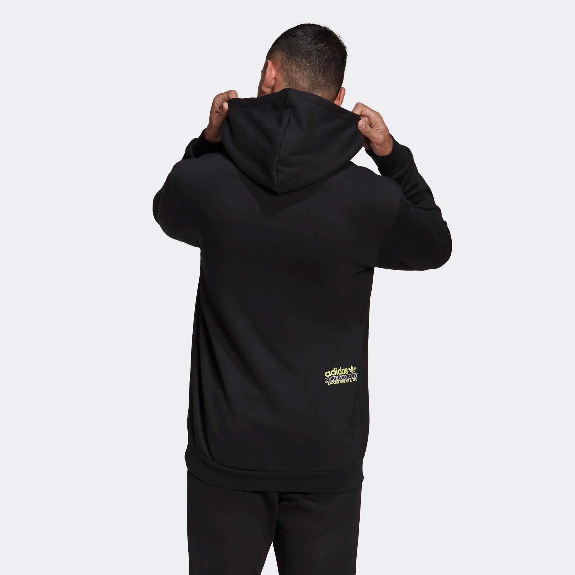 adidas ZX FtPack Erkek Siyah Sweatshirt