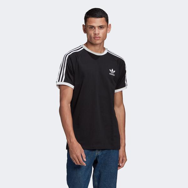 adidas 3-Stripes Erkek Siyah T-Shirt