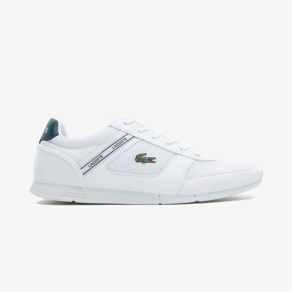 Lacoste Menerva Sport 0721 1 Cma Erkek Beyaz - Koyu Yeşil Spor Ayakkabı