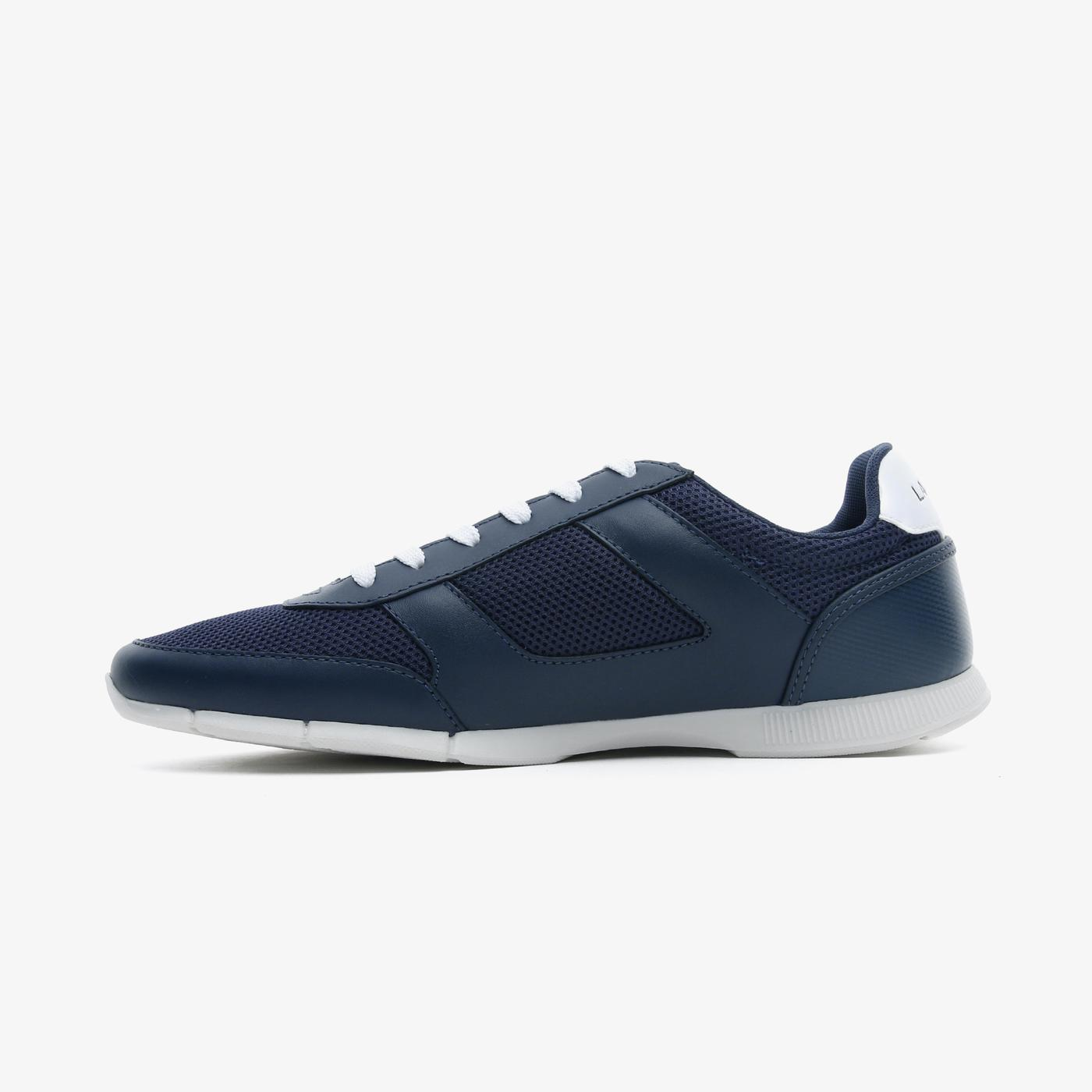 Lacoste Menerva Sport 0721 1 Cma Erkek Lacivert - Beyaz Spor Ayakkabı