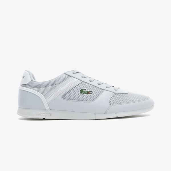Lacoste Menerva Sport 0721 1 Cma Erkek Açık Gri - Beyaz Spor Ayakkabı