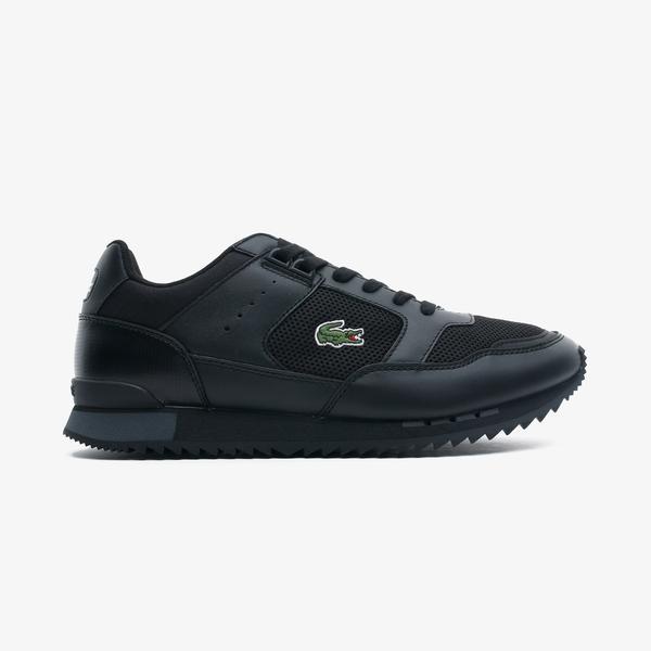 Lacoste Partner Piste 0721 1 Sma Erkek Siyah - Antrasit Spor Ayakkabı