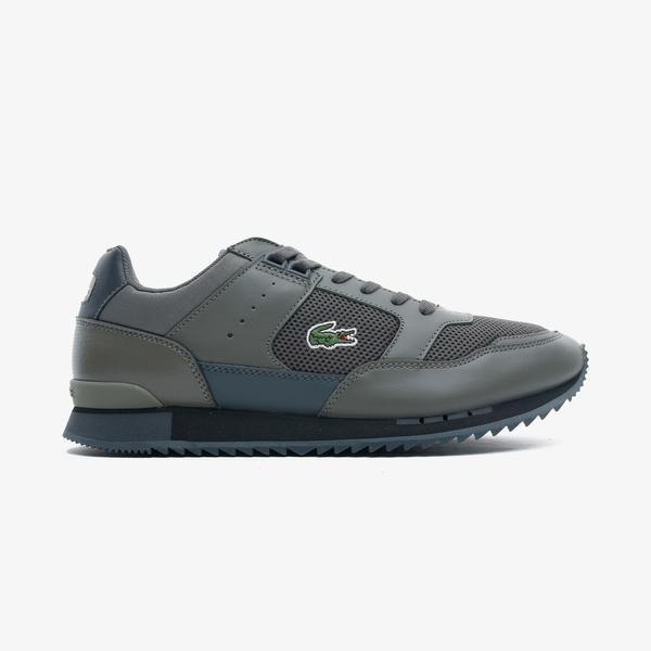 Lacoste Partner Piste 0721 1 Sma Erkek Yeşil Spor Ayakkabı