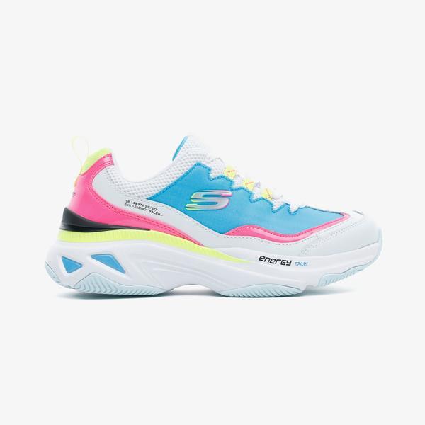 Skechers Energy Racer Kadın Beyaz Spor Ayakkabı