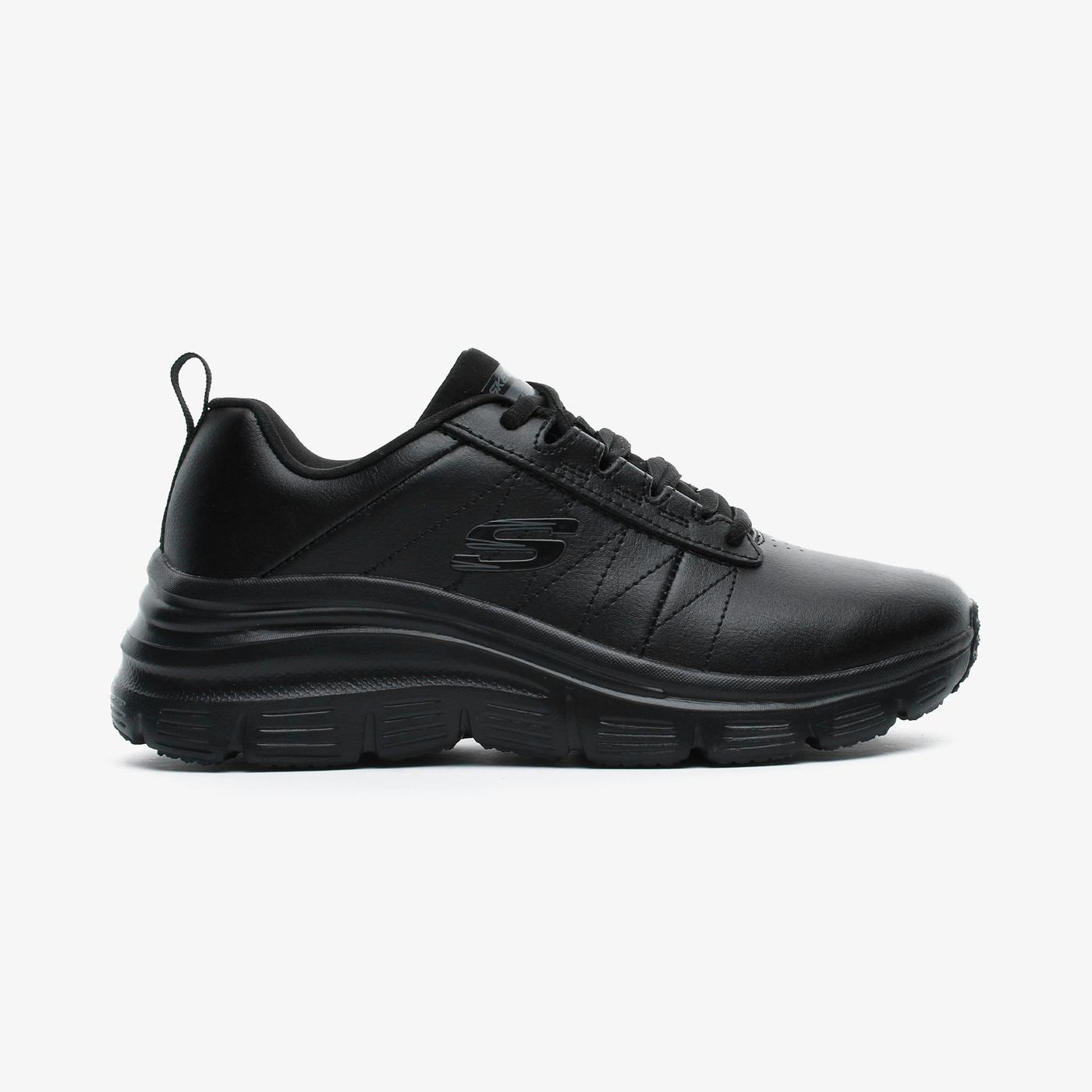 Skechers Fashion Fit-Effortless Kadın Siyah Spor Ayakkabı