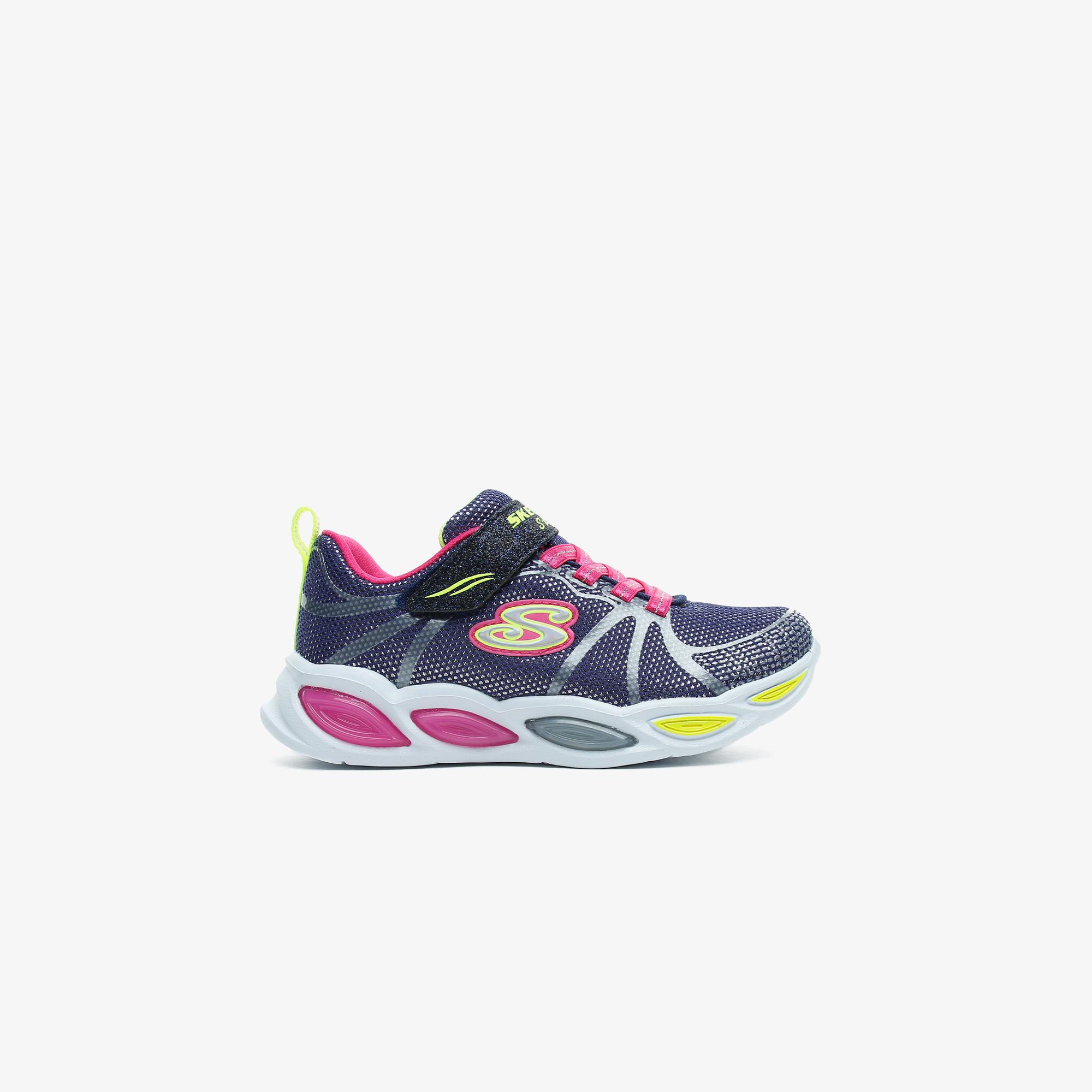 Skechers Shimmer Beams-Sporty Glow Çocuk Lacivert Spor Ayakkabı