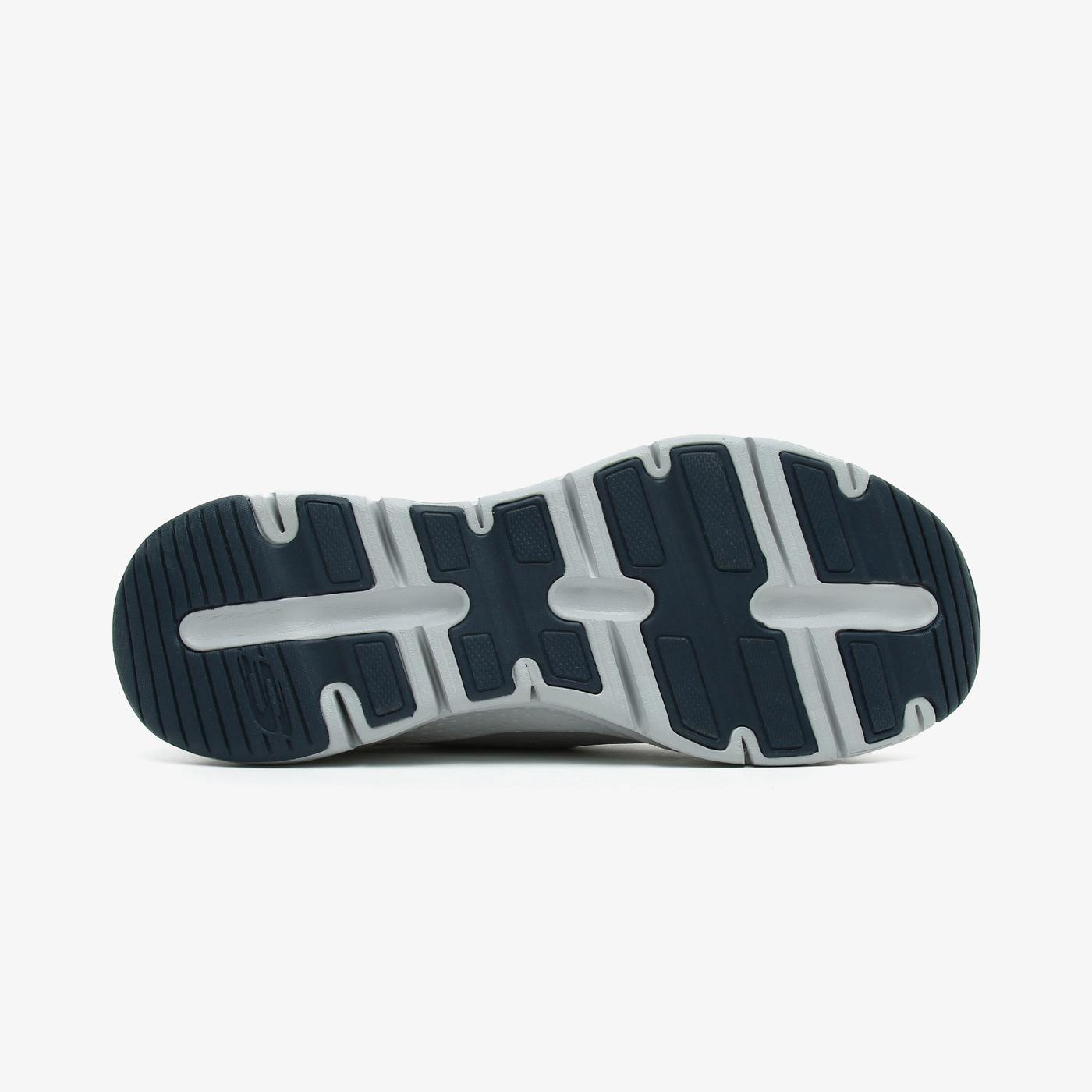 Skechers Arch Fit Erkek Gri Spor Ayakkabı