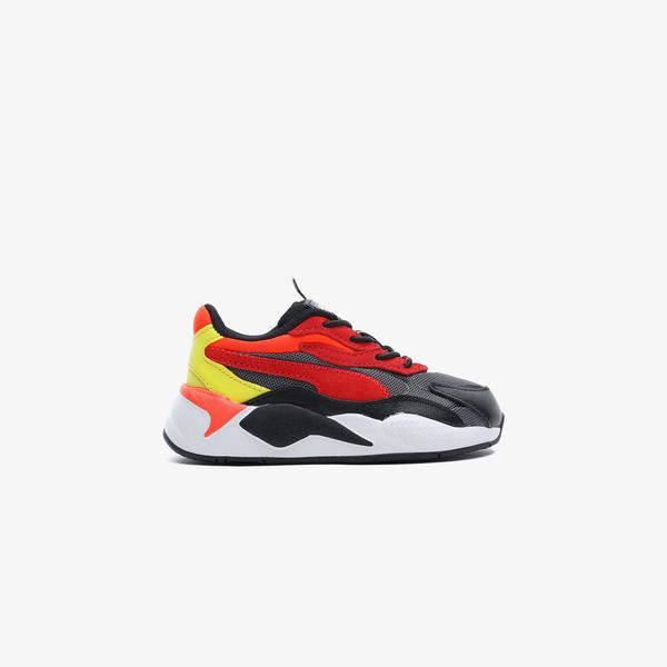 Puma RS-X³ Neon Flamme Bebek Siyah Spor Ayakkabı